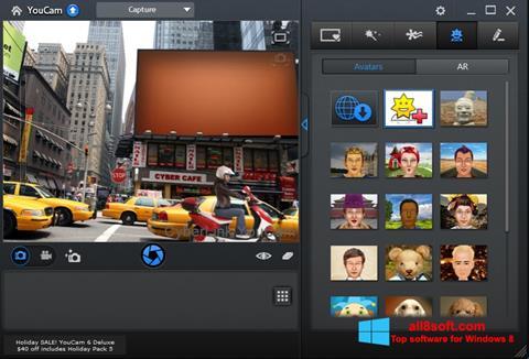 Captura de pantalla CyberLink YouCam para Windows 8