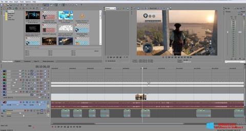 Captura de pantalla Sony Vegas Pro para Windows 8
