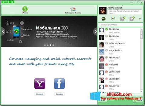 Captura de pantalla ICQ para Windows 8