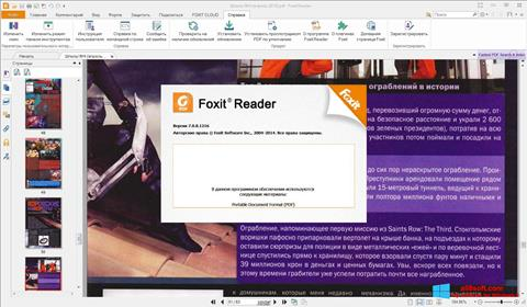 Captura de pantalla Foxit Reader para Windows 8