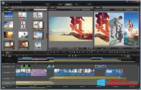 Captura de pantalla Pinnacle Studio para Windows 8