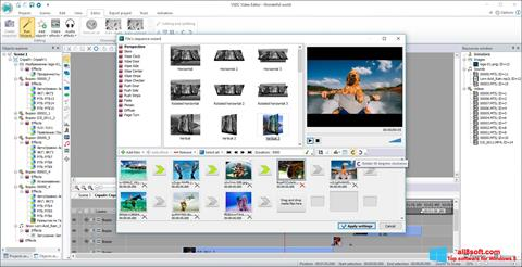 Captura de pantalla VSDC Free Video Editor para Windows 8