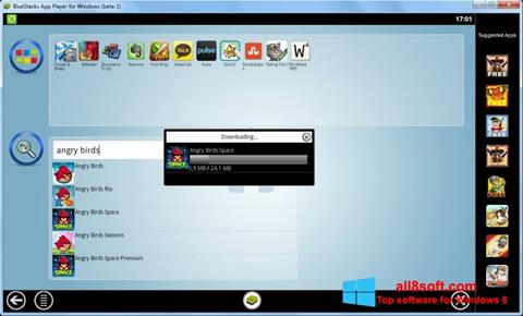 Captura de pantalla BlueStacks para Windows 8