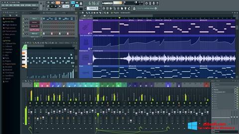 Captura de pantalla FL Studio para Windows 8