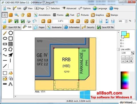 Captura de pantalla PDF Reader para Windows 8